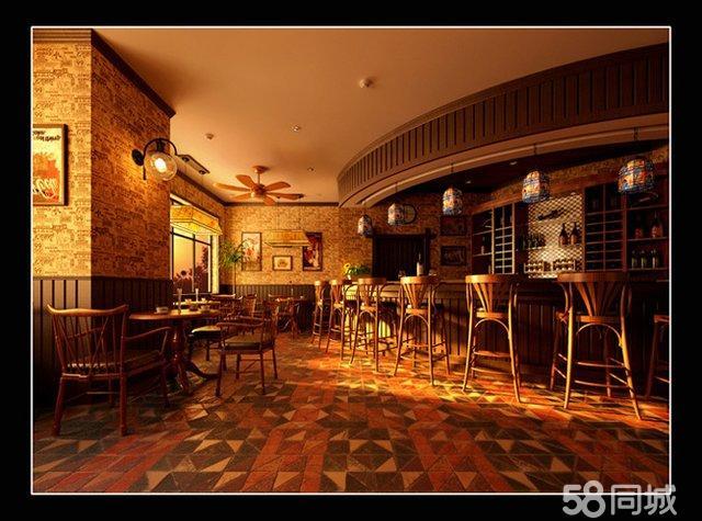 美式咖啡厅图片