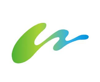 山水logo圖形化設計