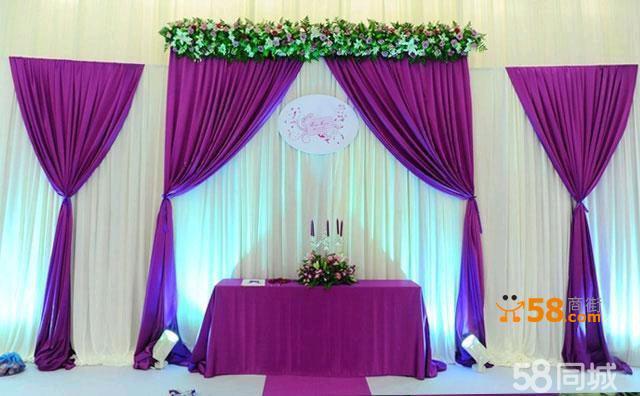 时尚紫色婚礼套餐四季情缘