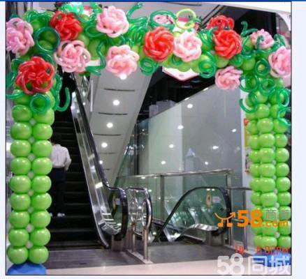 北京气球造型制作,气球布置