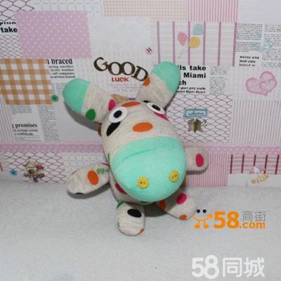 创意玩偶diy袜子娃娃手工制作布艺公仔玩具 驴批发
