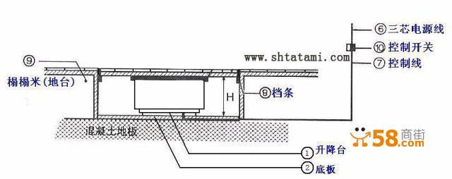 1000型升降机接线图
