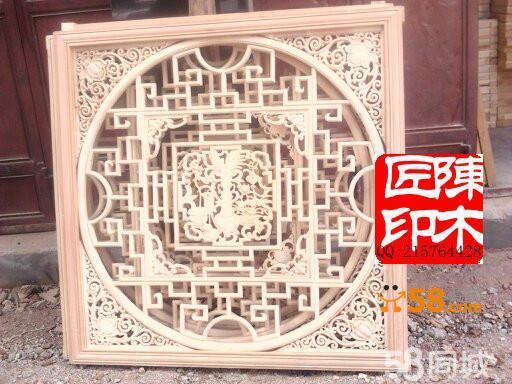 剑川木雕观景窗