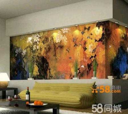 茶楼壁画手绘 酒吧背景墙手绘—58商家店铺