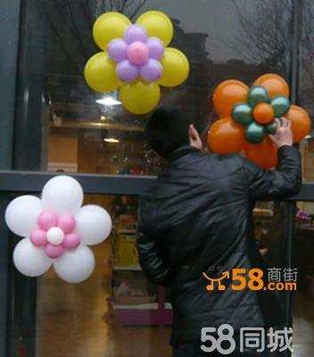 气球场地布置,多彩气球拱门制作