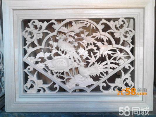 剑川木雕 纯手工产品 :实木雕花门