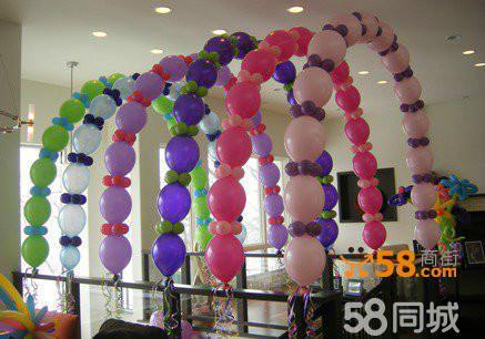北京批发氦气球,圣诞 元旦气球造型制作
