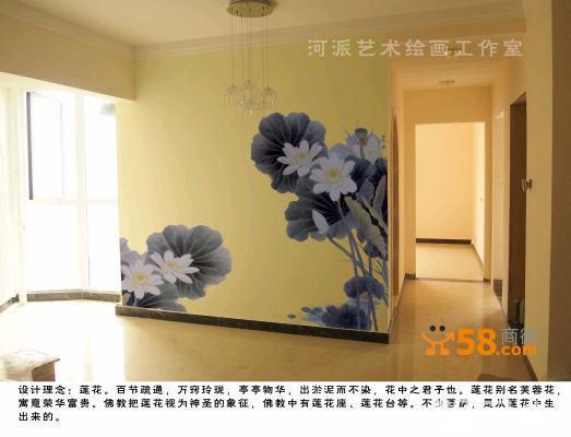 美术工作室墙面设计分享展示