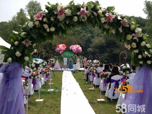 沈阳欧式草坪婚礼尽在山伯伊草坪婚礼会馆