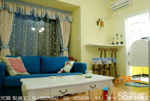 华都美林湾之地中海风格装修实景图片—58商家店铺