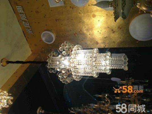 榆林商街 榆林裝修建材 榆林建材  室內水晶吊燈 1 市場價: 2200.