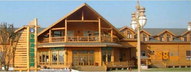 木别墅,木屋,加拿大轻型木结构房屋